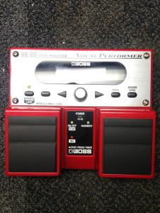 Boss VE-20 Vocal Performer w/ 6 AA Batteries image