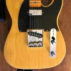 Fender Vintage Hot Rod '52 Telecaster Electric Guitar Butterscotch Blonde image
