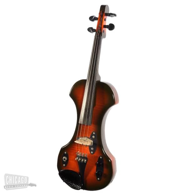 Fender Electric Violin 1970s Sunburst Reverb