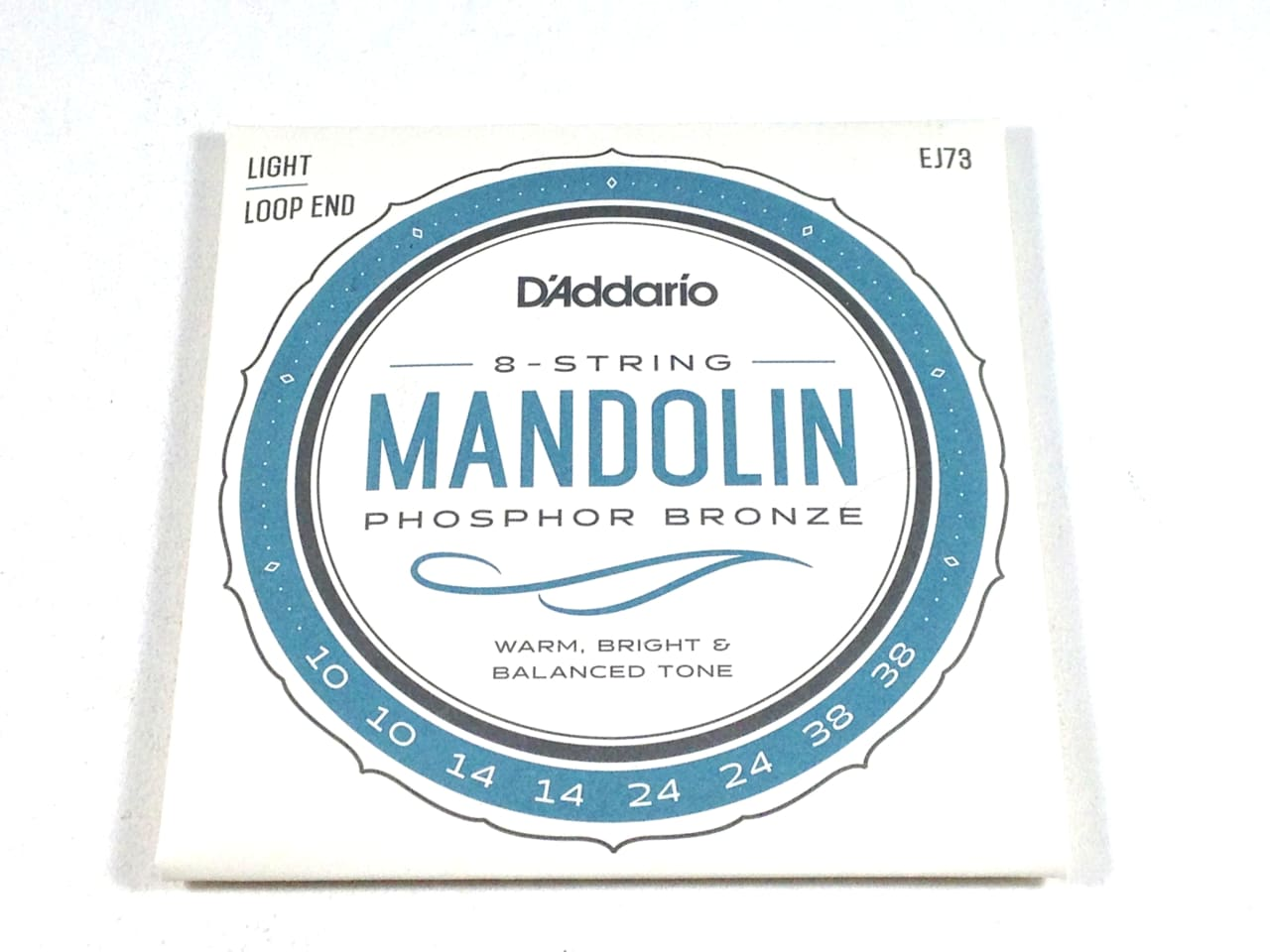 D'Addario Mandolin Strings | EJ73 (formerly J73) | Light ...
