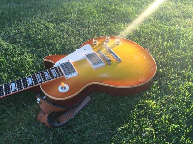 gibson custom  u0026 historic 1960 reissue g0 2005 lemon burst