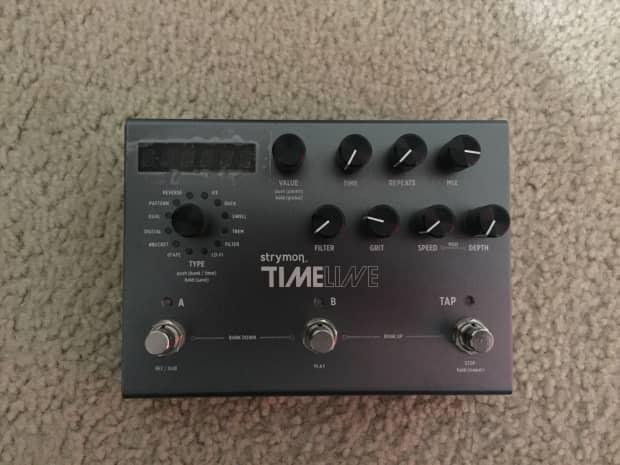strymon timeline delay guitar effect pedal reverb. Black Bedroom Furniture Sets. Home Design Ideas