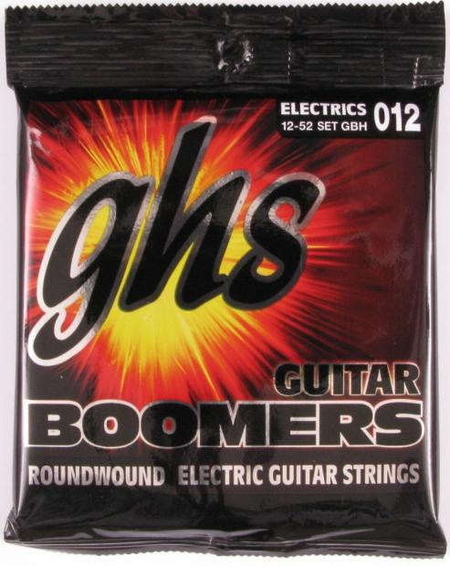 ghs guitar boomers roundwound electric guitar strings 012 set of 9 reverb. Black Bedroom Furniture Sets. Home Design Ideas