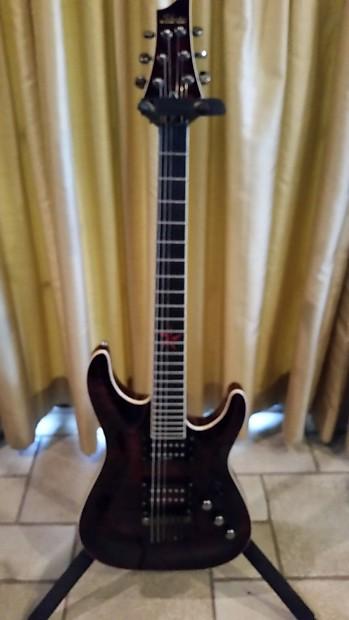 schecter exotic star electric guitar set up low action reverb. Black Bedroom Furniture Sets. Home Design Ideas