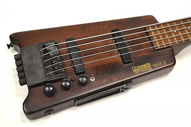 Hohner Steinberger B2a V Walnut Headless Electric Bass
