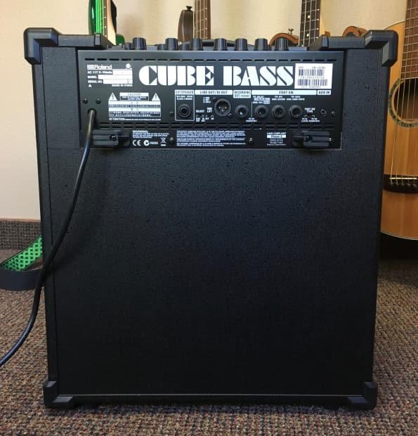 roland cube 120xl 1x12 120 watt bass amp combo reverb. Black Bedroom Furniture Sets. Home Design Ideas
