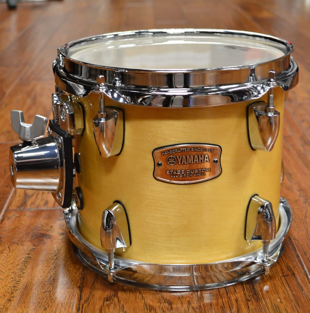 Houston Auto Direct >> Yamaha Stage Custom 8x7 Rack Tom Natural Wood   Reverb