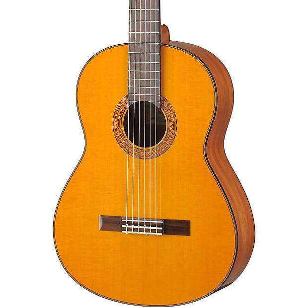 Yamaha cg142ch solid cedar top classical guitar reverb for Yamaha solid top