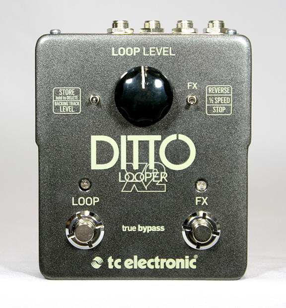 new tc electronic ditto x2 looper electric guitar looping effects pedal reverb. Black Bedroom Furniture Sets. Home Design Ideas