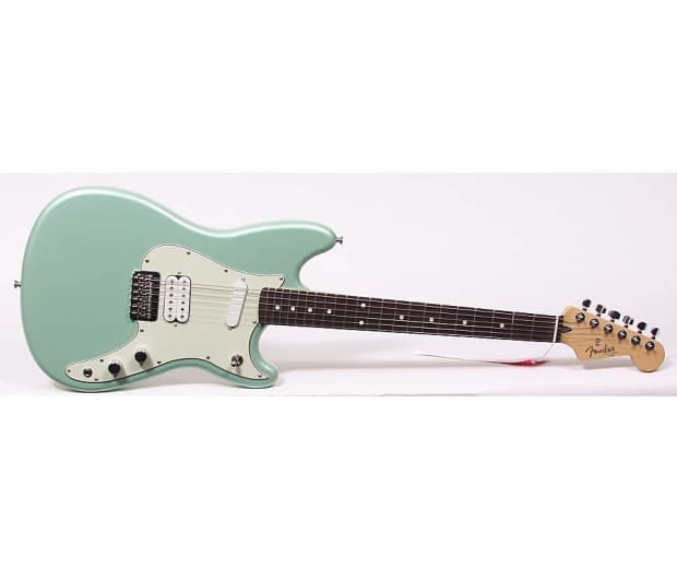 new 2016 fender duo sonic hs electric guitar surf green reverb. Black Bedroom Furniture Sets. Home Design Ideas