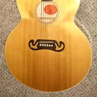 <p>2003 Gibson  J-100 extra acoustic electric jumbo body guitar made in the USA ohsc</p>  for sale