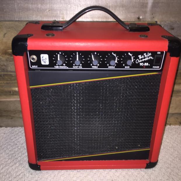 gorilla tc 35 1987 red ultra rare red practice bedroom amp 50 watts reverb. Black Bedroom Furniture Sets. Home Design Ideas