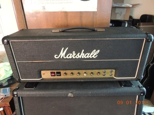 marshall lead mkii 50 watt non master 1977 jmp will ship reverb. Black Bedroom Furniture Sets. Home Design Ideas