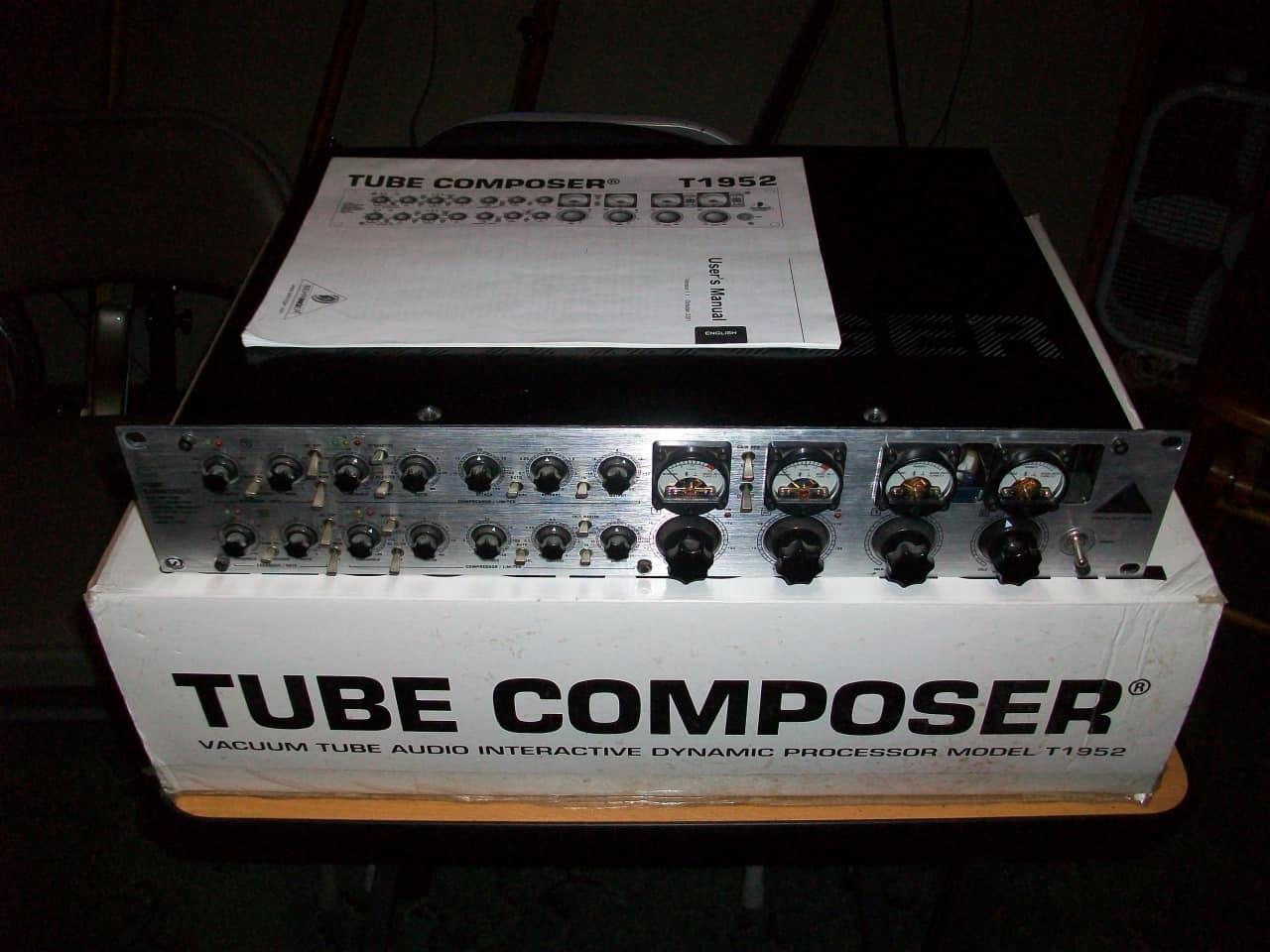 Behringer Tube Composer T1952 2011 Black Chrome Reverb