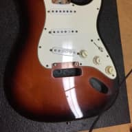 Fender American Standard Stratocaster Body And Original Loaded Pickguard 1995