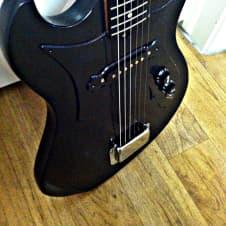 Global  Electric Guitar 1965 Black image