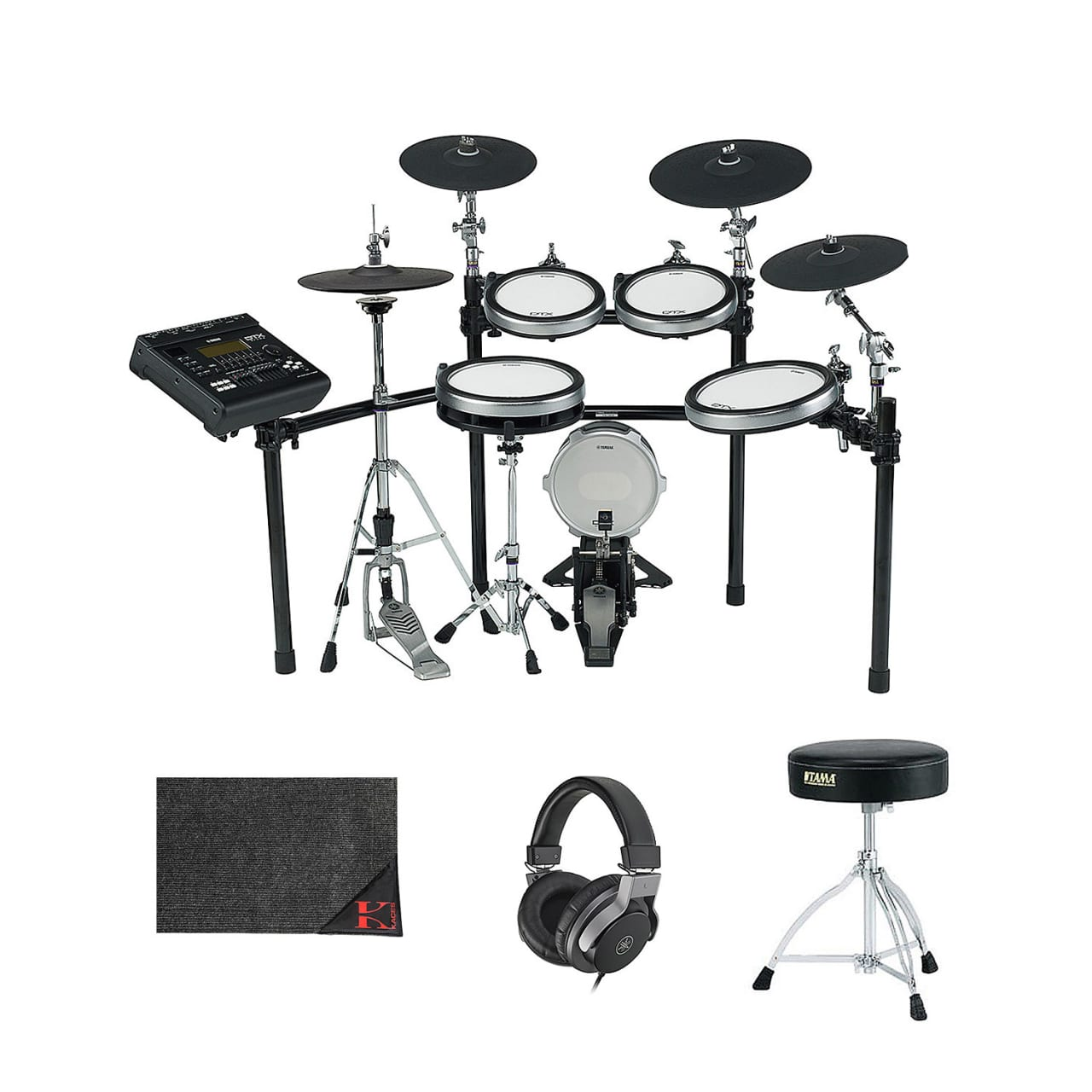 Yamaha dtx series dtx920 electronic drum set with monitor for Yamaha dtx920k review
