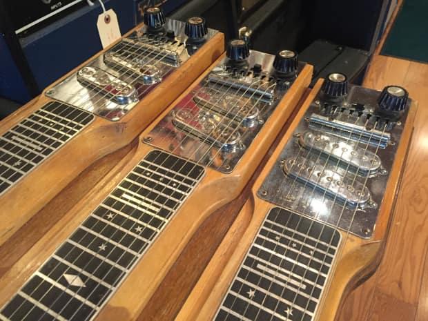 magnatone maestro triple neck 8 string steel guitar reverb. Black Bedroom Furniture Sets. Home Design Ideas