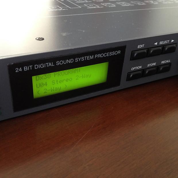 electro voice dx 38 24 bit digital sound system processor. Black Bedroom Furniture Sets. Home Design Ideas