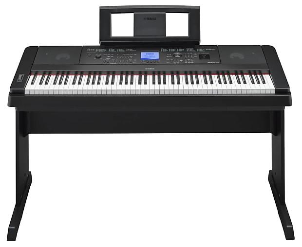 yamaha dgx 660 portable grand digital piano black. Black Bedroom Furniture Sets. Home Design Ideas