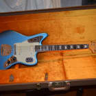 Fender 50th Anniversary Jaguar electric guitar 2011 Lake Placid Blue image