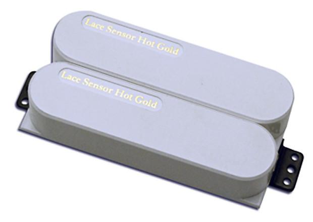 lace sensor hot gold dually neck pickup white reverb. Black Bedroom Furniture Sets. Home Design Ideas