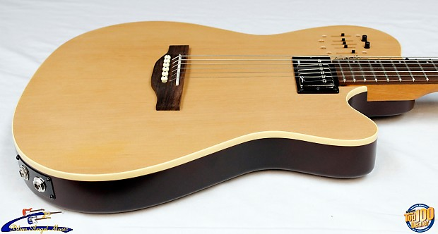 godin a6 ultra acoustic electric hybrid guitar semi gloss reverb. Black Bedroom Furniture Sets. Home Design Ideas