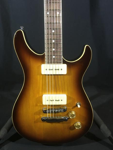 g l tribute ascari gt 90 in tobacco sunburst p90 pickups hard case 1699 reverb. Black Bedroom Furniture Sets. Home Design Ideas