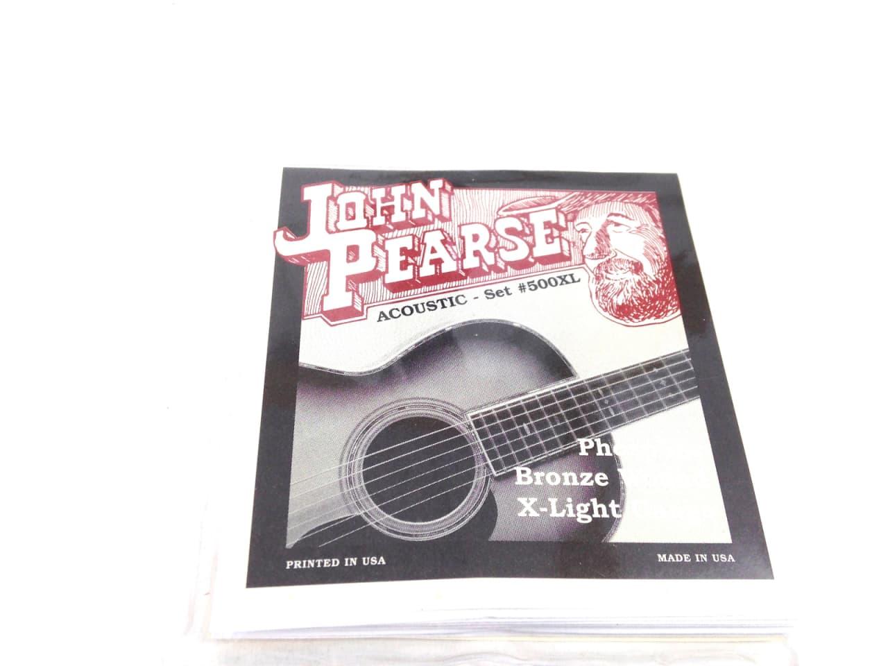 john pearse guitar strings acoustic extra light gauge. Black Bedroom Furniture Sets. Home Design Ideas