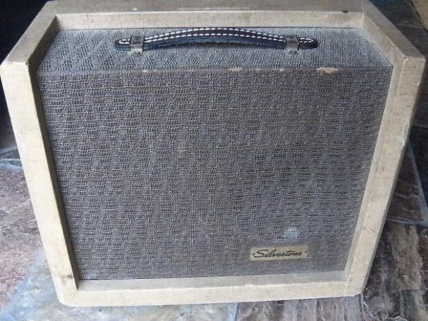 Silvertone Vintage Guitar Tube Amplifier amp 1391 ...