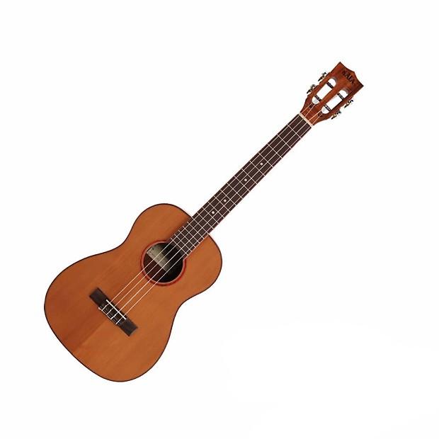 kala ka abp ctg baritone ukulele solid cedar top with acacia reverb. Black Bedroom Furniture Sets. Home Design Ideas