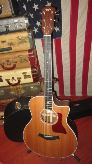2011 taylor model 416ce ltd baritone acoustic guitar reverb. Black Bedroom Furniture Sets. Home Design Ideas