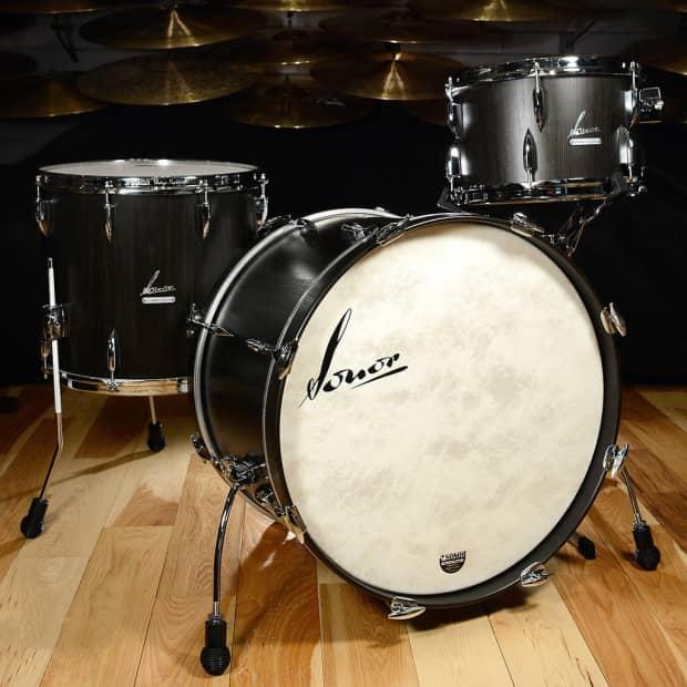 sonor vintage series drum set 20 3 piece shell pack vt 15 reverb. Black Bedroom Furniture Sets. Home Design Ideas