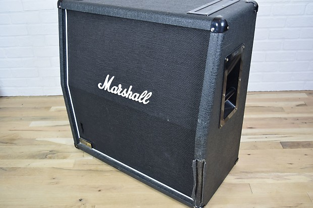 marshall 1960a lead 4x12 guitar speaker cabinet awesome used reverb. Black Bedroom Furniture Sets. Home Design Ideas