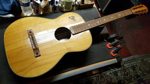 vintage eko p10 classical acoustic guitar italy reverb. Black Bedroom Furniture Sets. Home Design Ideas