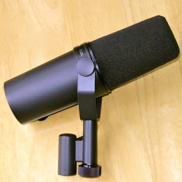 shure sm7b vocal microphone reverb. Black Bedroom Furniture Sets. Home Design Ideas