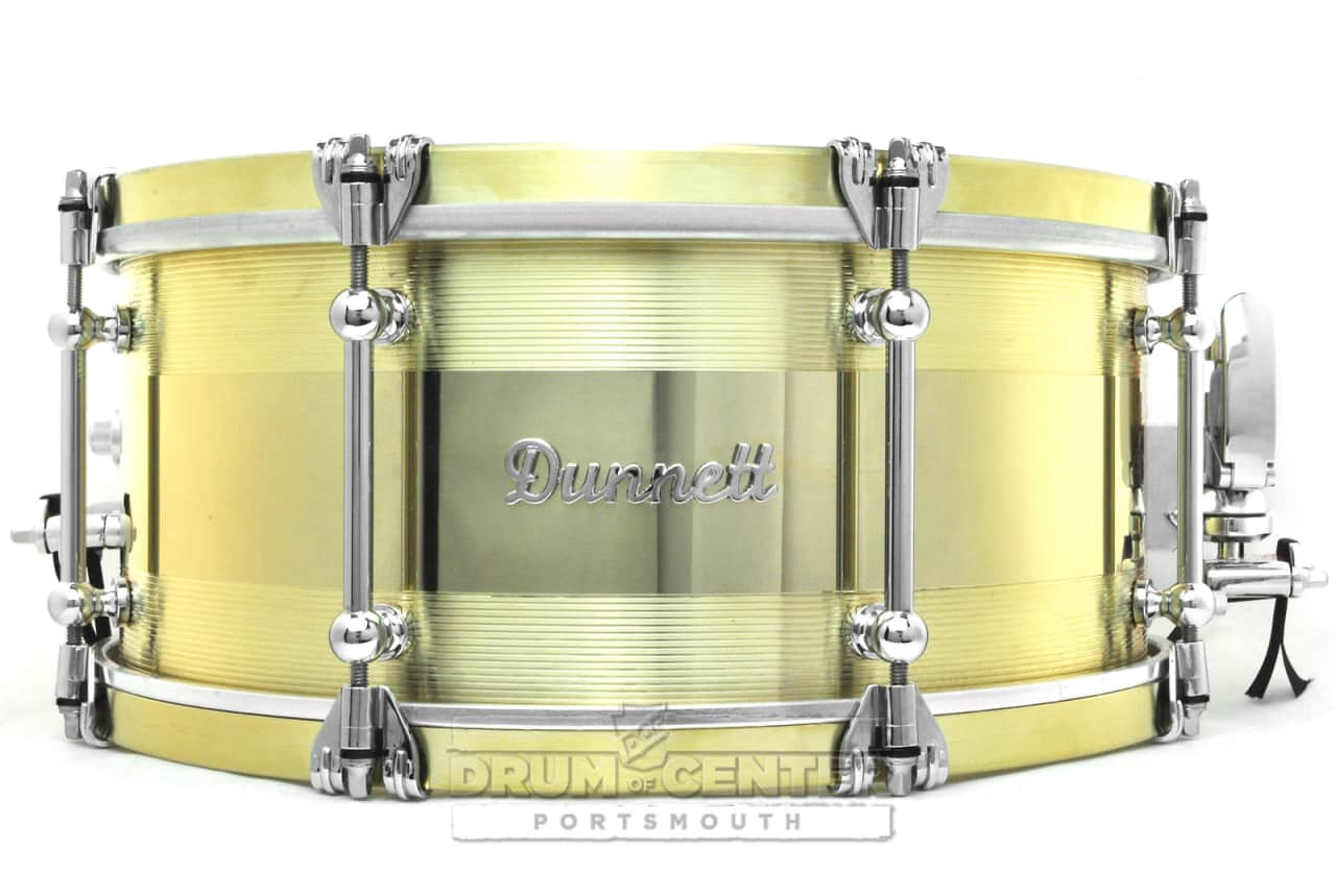 Dunnett Classic Kast Bronze Snare Drum 14x6.5 Centerline w ...