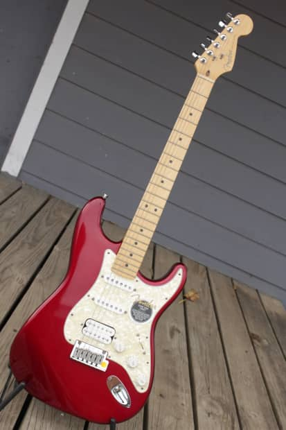 fender nos lone star stratocaster 1997 candy apple red reverb. Black Bedroom Furniture Sets. Home Design Ideas