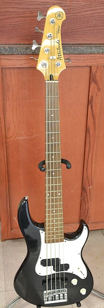 yamaha attitude standard 5 5 string bass guitar reverb. Black Bedroom Furniture Sets. Home Design Ideas