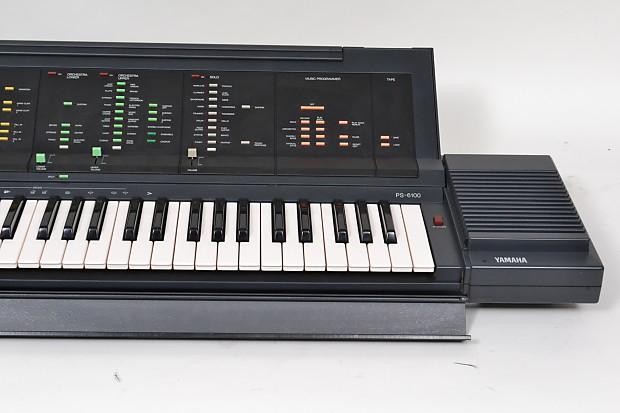 Yamaha portatone electronic keyboard ps 6100 w case for Yamaha portatone keyboard