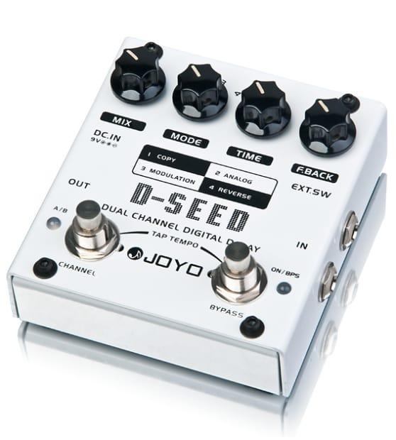joyo d seed dual channel digital analog mod reverse delay reverb. Black Bedroom Furniture Sets. Home Design Ideas