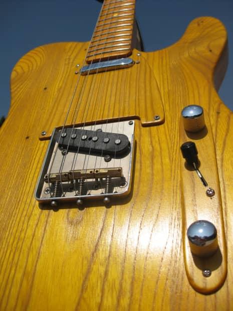 Custom Fender Telecaster 50s Ash Body Reverb