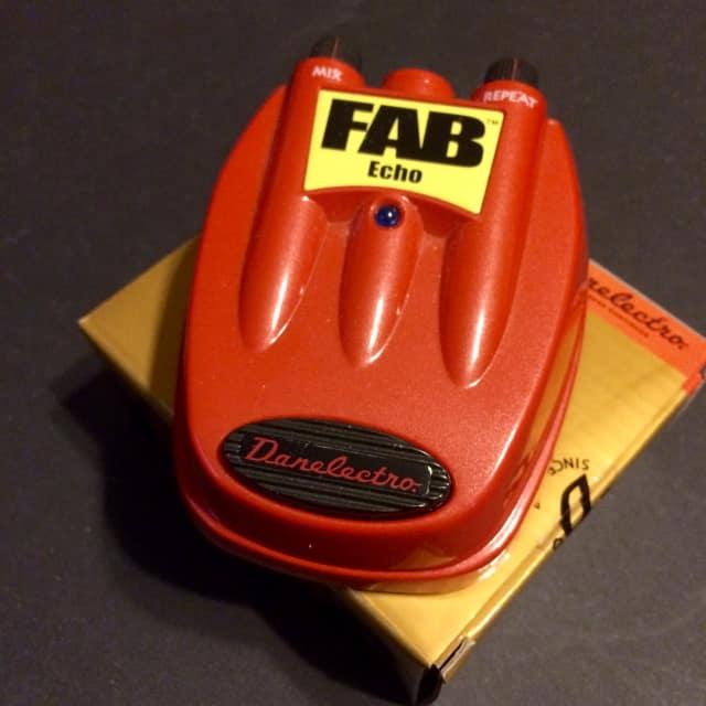 Danelectro Fab Echo - Warm, Slapback Echo & Great Mod Platform! image