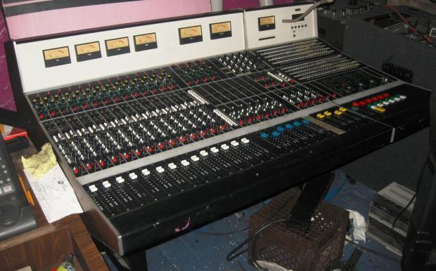 26 ch vintage ward beck analog transformer mixing recording console studio mixer reverb. Black Bedroom Furniture Sets. Home Design Ideas