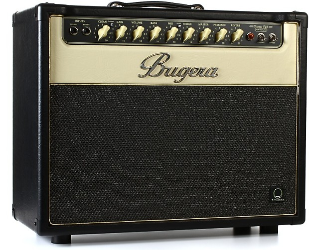 bugera v22 infinium 22 watt 1x12 tube combo amp reverb. Black Bedroom Furniture Sets. Home Design Ideas