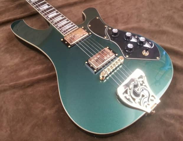 schecter stargazer electric guitar in dark emerald green reverb. Black Bedroom Furniture Sets. Home Design Ideas