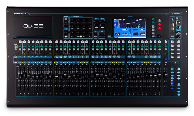 Allen Heath Qu 32 38 In 28 Out Digital Mixer W Reverb