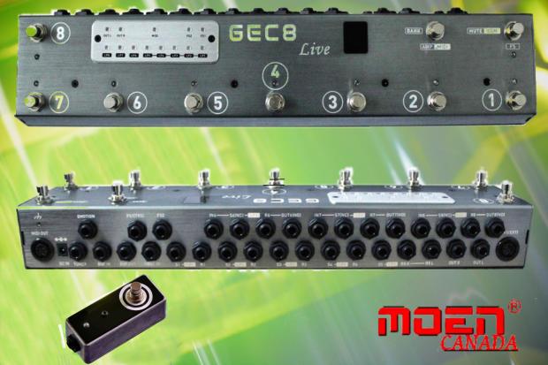Midi Looper Pedal : moen gec8 live enhanced vers with midi pedal switcher guitar effect routing system looper ships ~ Russianpoet.info Haus und Dekorationen