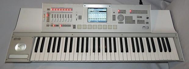 korg m3 61 key workstation synthesizer keyboard w karma reverb. Black Bedroom Furniture Sets. Home Design Ideas