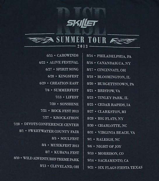 Skillet tour dates in Sydney